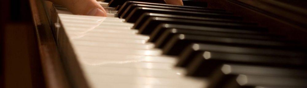 Zoom sur piano